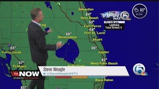 4 p.m. Friday forecast for South Florida and Treasure Coast