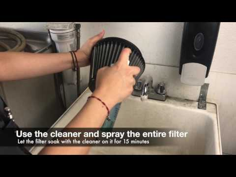 How to Clean an aFe POWER Dry Universal Filter