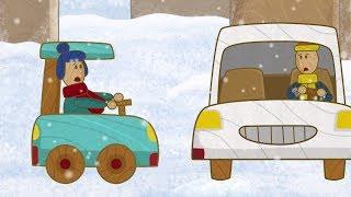 'Машинки', новый мультсериал для мальчиков - В гололёд (серия 26) Развивающий мультфильм
