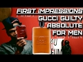 Gucci Guilty Absolute | Mens Fragrance First Impressions | Gucci is Back!