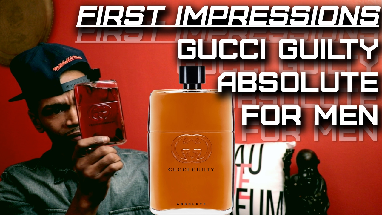 4b43617863 Gucci Guilty Absolute   Mens Fragrance First Impressions   Gucci is Back!