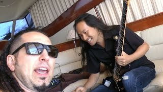Repeat youtube video DragonForce Recording with Five Finger Death Punch on a Yacht