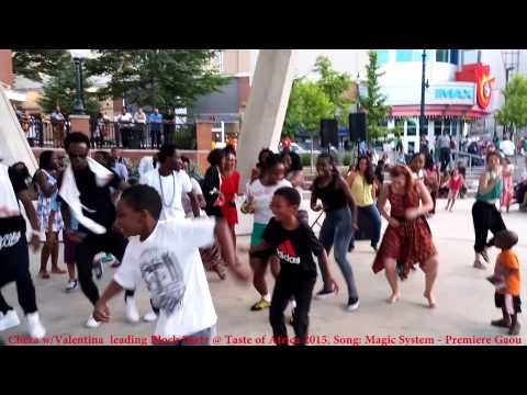 African Block Party  Dancing to Premiere Gaou  Magic Systems