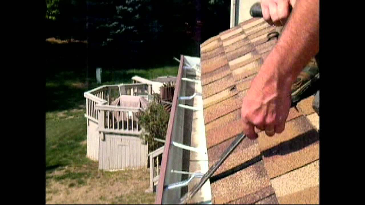 Atlantic Drain Gutter Rehang Install Hidden Hangers On