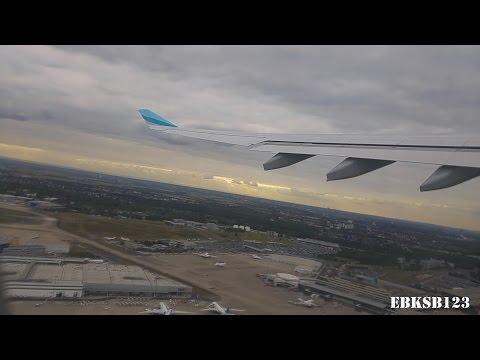 Eurowings A330-200 TAKE OFF | Cologne - Bangkok | 1080p