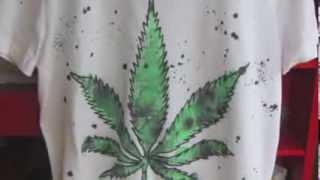 DIY! T-shirt Marijuana :D