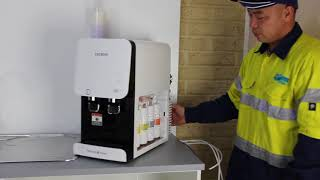 Cuckoo Australia water purifier installation video