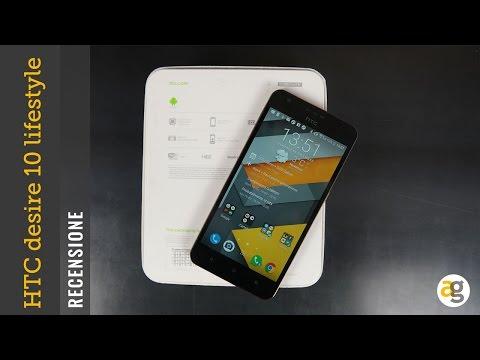 RECENSIONE HTC desire 10 lifestyle