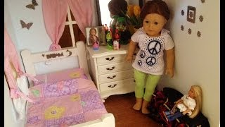 American Girl Doll House Tour By Saige Copeland