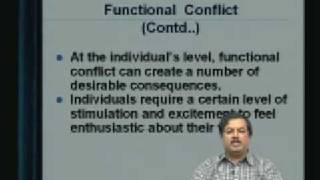 Lecture - 35 Conflict Management - 1