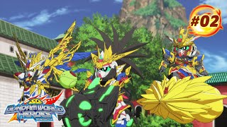 "SD GUNDAM WORLD HEROES Episode 2 ""A Voice That Calls For Justice""(EN,HK,TW,CN,KR,TH,VN,IT,FR,ID sub)"