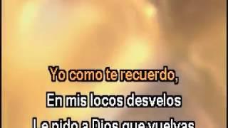 Triste Recuerdo Karaoke - Antonio Aguilar