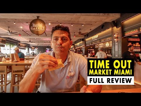 Best Food Market Miami Beach - Time Out Market Miami (Full Review)