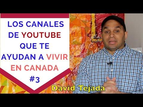 Los Canales De YOUTUBE que te ayudan a vivir en canada #3