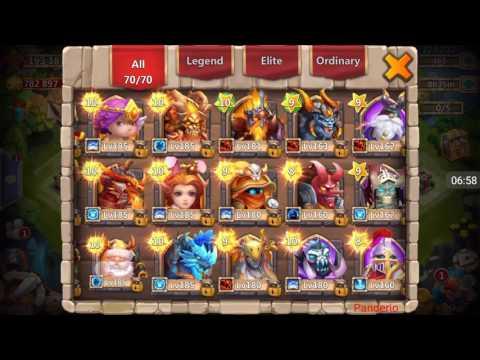 Castle Clash - Lava 3 Setup And Guide + A Few Rewards!