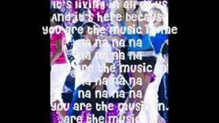 HSM2 - You are the music in me SHARPAY VERSION (with LYRICS)