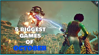 The 5 Biggest Games Coming Out In October 2019 | Ps4, Xbox One & Pc