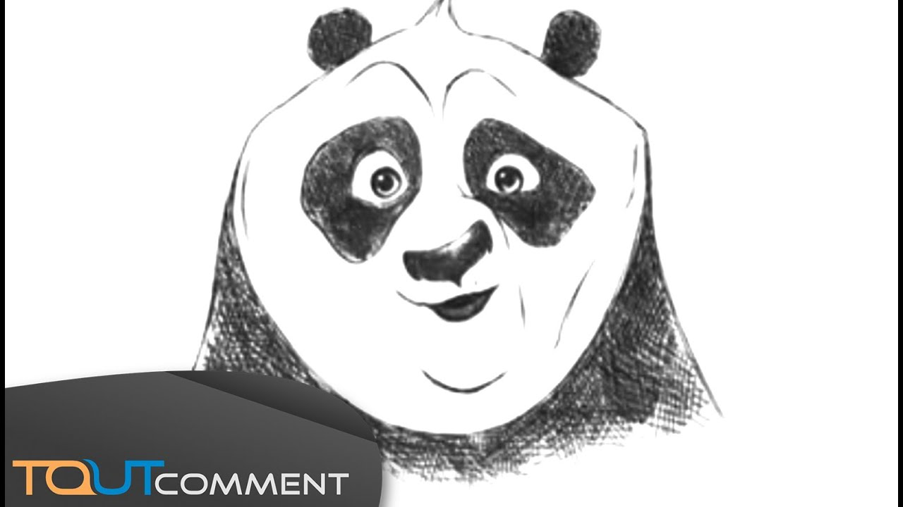 Connu Comment dessiner Kung Fu Panda : Po / How to draw Kung Fu Panda  XE41