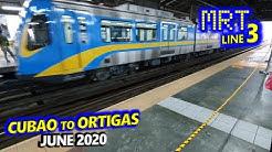 MRT3 | Social Distancing on Train | June 2020