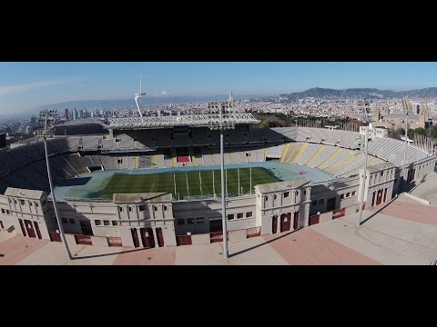 Estadio Olimpico y Vistas desde Montjuic - Olympic Stadium and Montjuíc views - Barcelona