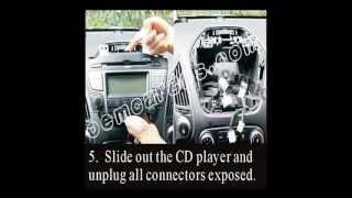 how to install car dvd head unit for YUNDAI IX35