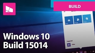 Windows 10 Build 15014 - Book Store, Action Center, Personalization + MORE