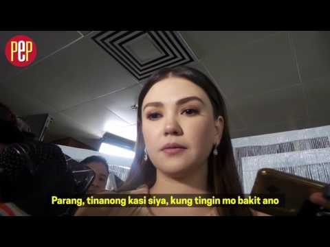 Angelica Panganiban explains the kind of relationship she has now with John Lloyd Cruz