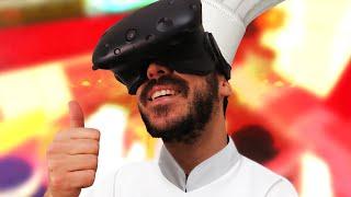 UN BLÉDARD EN CUISINE ! - Job Simulator HTC Vive