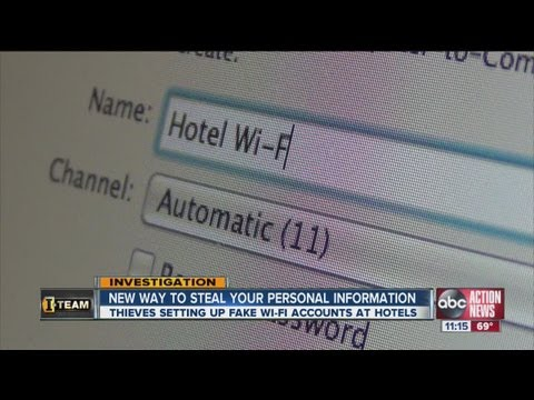 Hotel scammers with fake wi-fi want your credit card information