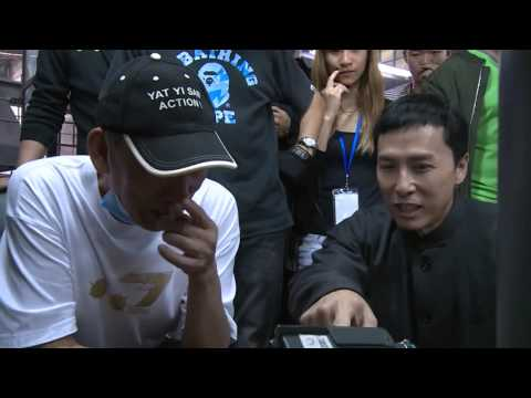 DONNIE YEN & MIKE TYSON FIGHT - BEHIND THE SCENES IP MAN 3