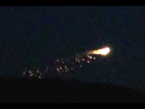 flaming ufo over military town in warminster england. Black Bedroom Furniture Sets. Home Design Ideas