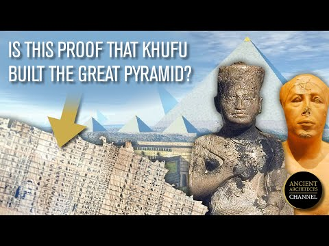 The Diary of Merer: Is this Proof that Khufu Built the Great Pyramid of Egypt? | Ancient Architects