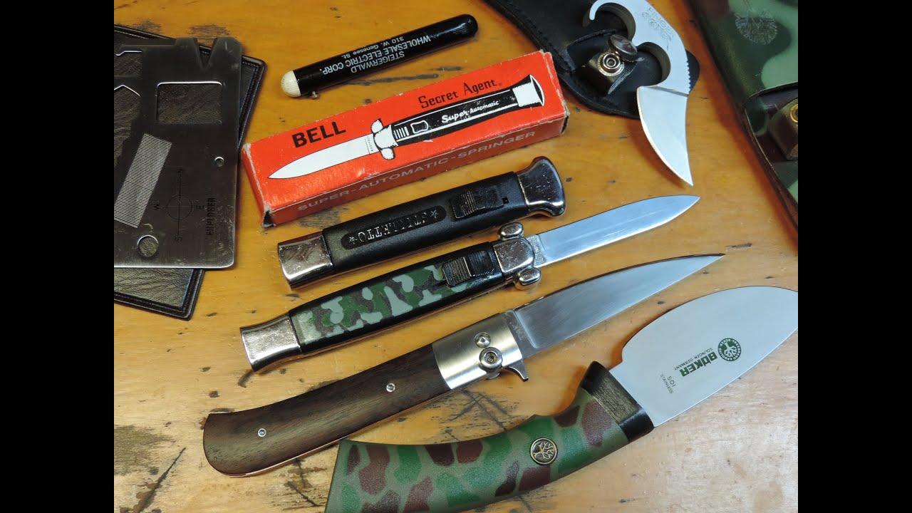 New Arrival Retro Knives - Rostfrei, Stiletto, Switchblades, FOX, Boker,  SARCO