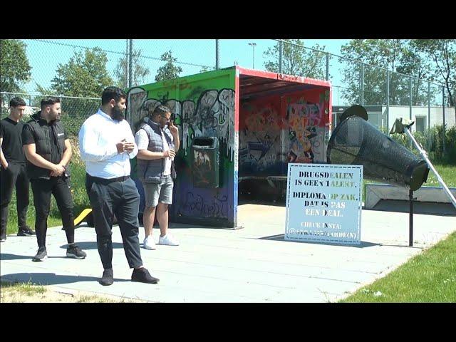 Opening jongeren ontmoetingsplek aan het Joekespad in Woerden