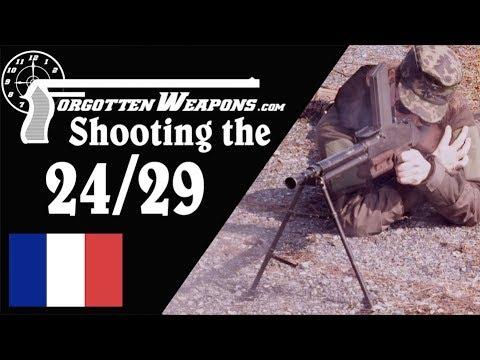 Shooting the Chatellerault FM 2429 Light Machine Gun