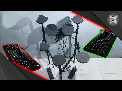Cara Membuat Drum Elektrik Sederhana Dari Keyboard PC