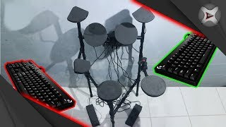 Download Video Cara Membuat Drum Elektrik Dari Keyboard PC MP3 3GP MP4