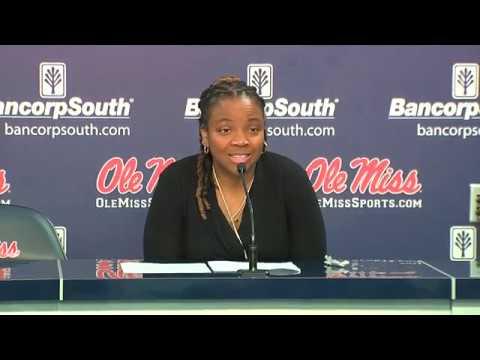 PRESSER | Yolett McPhee-McCuin - Ole Miss defeats Savannah St 74 - 51 (12/8/18)