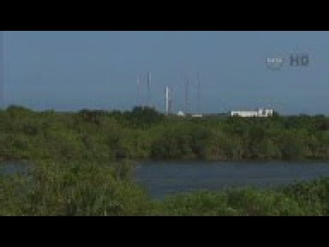 Space X launches after initial delay - AP Archive