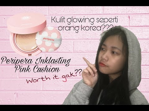 Review + First Impression Peripera Inklasting Pink cushion