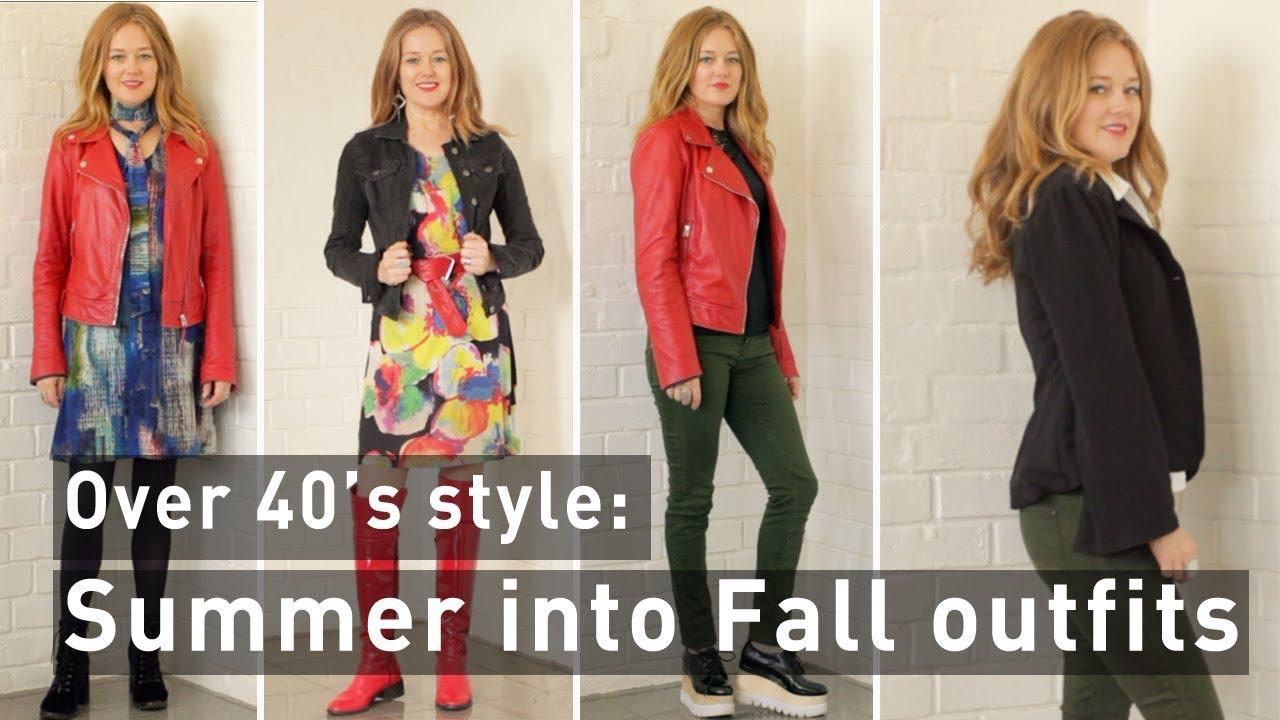 Summer into fall outfits 2017 - Summer into fall outfits for women over 40 9