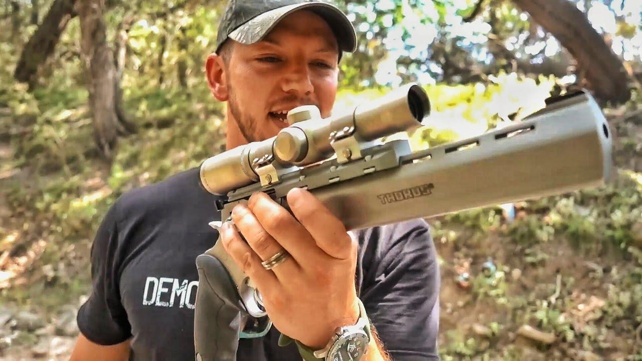 Огромный револьвер с крохотными патронами! | Разрушительное ранчо | Перевод Zёбры