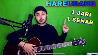 Download lagu Tutorial Melodi (HAREUDANG) cuman pake 1 JARI 1 SENAR (Gitar)