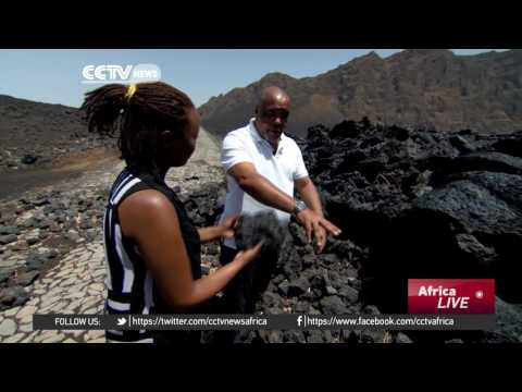 Hundreds of people choose risky living in Cape Verde's volcanic crater