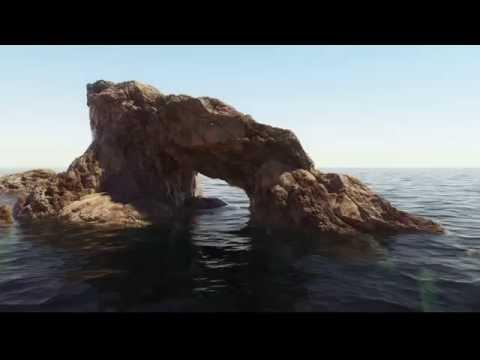 Trailer next tutorial - procedural landscape lightwave