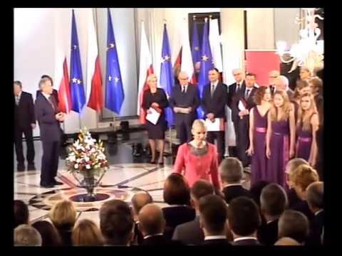Kinga Gajewska - 4 listopada 2015 r. - wręczenie zaświadczenia o wyborze