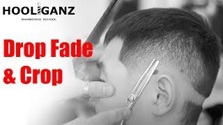 Мужская стрижка Fade на азиатских волосах