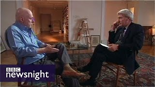 Paxman interviews Christopher Hitchens - Newsnight archives (2010)