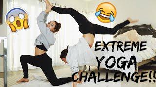 EXTREME COUPLES YOGA CHALLENGE!!