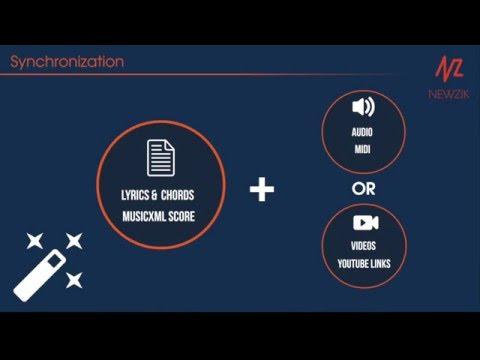 Tutorial Synchronization 2/2 - MusicXML score